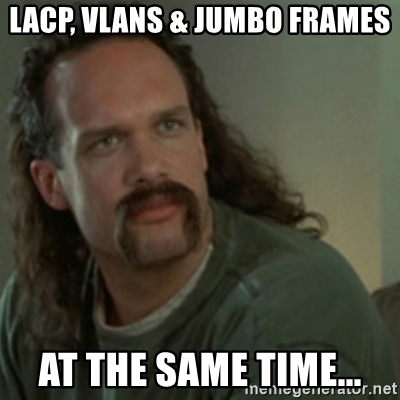 How to configure LACP, vLANs and Jumbo Frames on Cohesity